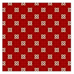 Cute Seamless Tile Pattern Gifts Large Satin Scarf (square) by creativemom