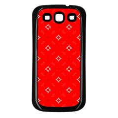 Cute Seamless Tile Pattern Gifts Samsung Galaxy S3 Back Case (black)