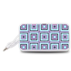 Cute Seamless Tile Pattern Gifts Portable Speaker (white)  by creativemom