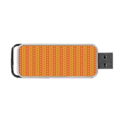 Cute Seamless Tile Pattern Gifts Portable Usb Flash (one Side) by creativemom
