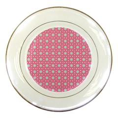 Cute Seamless Tile Pattern Gifts Porcelain Plates by creativemom