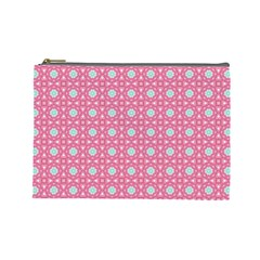 Cute Seamless Tile Pattern Gifts Cosmetic Bag (large)  by creativemom