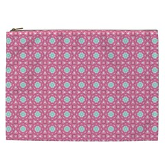 Cute Seamless Tile Pattern Gifts Cosmetic Bag (XXL)  by creativemom