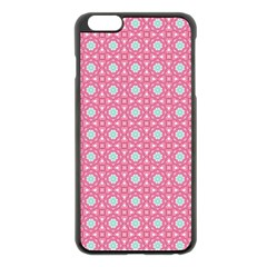 Cute Seamless Tile Pattern Gifts Apple iPhone 6 Plus Black Enamel Case by creativemom