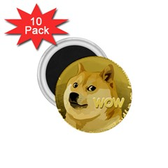 Dogecoin 1.75  Magnets (10 pack)  by dogestore
