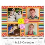 JECCA 2016 Calendar - Wall Calendar 11  x 8.5  (12-Months)