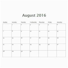Jecca 2016 Calendar By Jessica Rudnitzki   Wall Calendar 11  X 8 5  (12 Months)   Si6qrupxz0od   Www Artscow Com Aug 2016