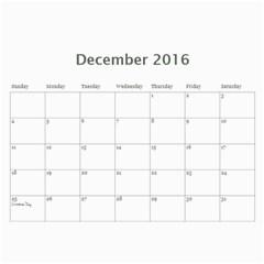 Jecca 2016 Calendar By Jessica Rudnitzki   Wall Calendar 11  X 8 5  (12 Months)   Si6qrupxz0od   Www Artscow Com Dec 2016