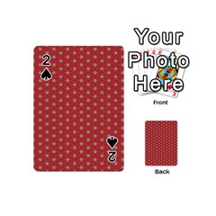 Cute Seamless Tile Pattern Gifts Playing Cards 54 (Mini)  by creativemom
