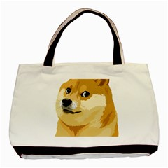 Dogecoin Basic Tote Bag  by dogestore