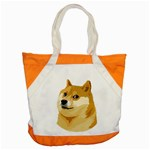 Dogecoin Accent Tote Bag