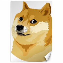 Dogecoin Canvas 20  x 30   by dogestore