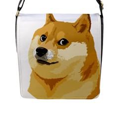 Dogecoin Flap Messenger Bag (l)  by dogestore
