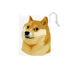 Dogecoin Drawstring Pouches (small)  by dogestore