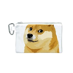 Dogecoin Canvas Cosmetic Bag (s) by dogestore