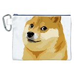 Dogecoin Canvas Cosmetic Bag (XXL)