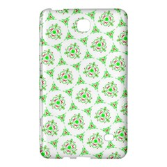 Sweet Doodle Pattern Green Samsung Galaxy Tab 4 (7 ) Hardshell Case  by ImpressiveMoments