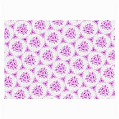 Sweet Doodle Pattern Pink Large Glasses Cloth by ImpressiveMoments