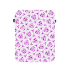 Sweet Doodle Pattern Pink Apple iPad 2/3/4 Protective Soft Cases by ImpressiveMoments