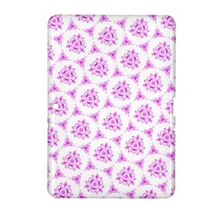 Sweet Doodle Pattern Pink Samsung Galaxy Tab 2 (10 1 ) P5100 Hardshell Case  by ImpressiveMoments