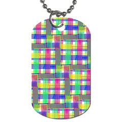 Doodle Pattern Freedom  Dog Tag (one Side) by ImpressiveMoments