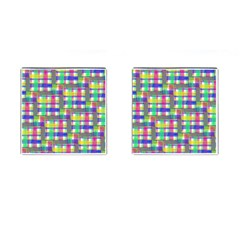 Doodle Pattern Freedom  Cufflinks (square) by ImpressiveMoments