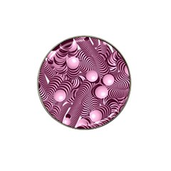 Doodle Fun Pink Hat Clip Ball Marker by ImpressiveMoments