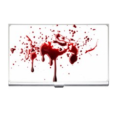 Blood Splatter 3 Business Card Holders by TailWags