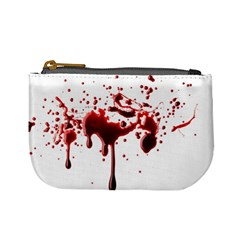Blood Splatter 3 Mini Coin Purses by TailWags