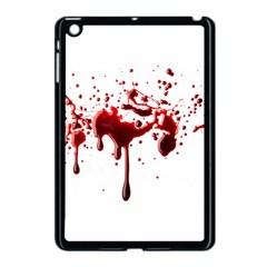 Blood Splatter 3 Apple iPad Mini Case (Black) by TailWags