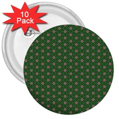 Cute Seamless Tile Pattern Gifts 3  Buttons (10 Pack)  by creativemom
