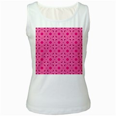 Cute Seamless Tile Pattern Gifts Women s Tank Tops by creativemom