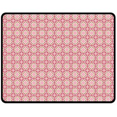 Cute Seamless Tile Pattern Gifts Double Sided Fleece Blanket (medium)  by creativemom