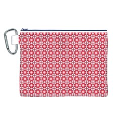 Cute Seamless Tile Pattern Gifts Canvas Cosmetic Bag (L) by creativemom