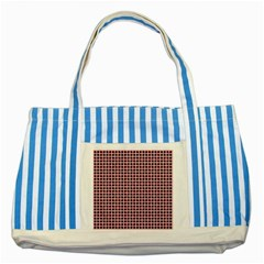 Cute Seamless Tile Pattern Gifts Striped Blue Tote Bag  by creativemom