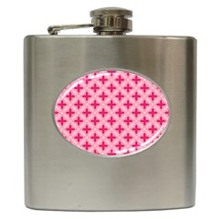Cute Seamless Tile Pattern Gifts Hip Flask (6 oz) by creativemom