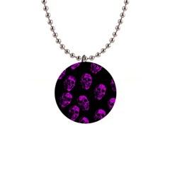 Purple Skulls  Button Necklaces by ImpressiveMoments