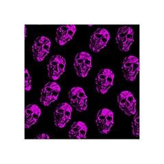 Purple Skulls  Acrylic Tangram Puzzle (4  x 4 ) by ImpressiveMoments