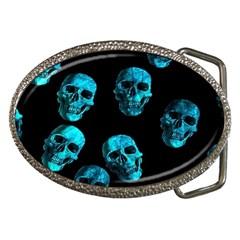 Skulls Blue Belt Buckles by ImpressiveMoments