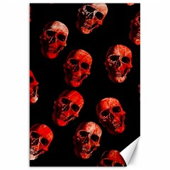 Skulls Red Canvas 20  x 30   by ImpressiveMoments