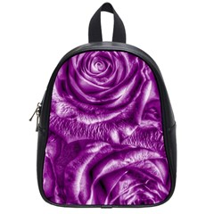 Gorgeous Roses,purple  School Bags (small)  by MoreColorsinLife