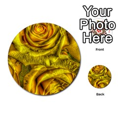 Gorgeous Roses, Yellow  Multi Purpose Cards (round)