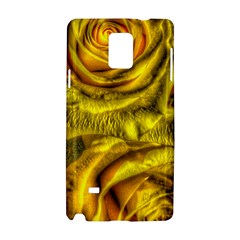 Gorgeous Roses, Yellow  Samsung Galaxy Note 4 Hardshell Case by MoreColorsinLife