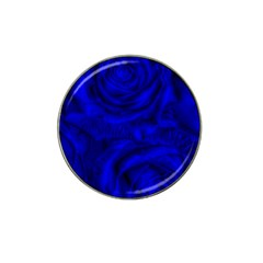 Gorgeous Roses,deep Blue Hat Clip Ball Marker by MoreColorsinLife