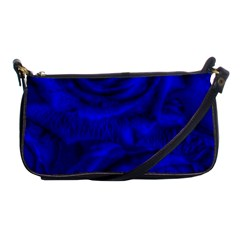 Gorgeous Roses,deep Blue Shoulder Clutch Bags by MoreColorsinLife