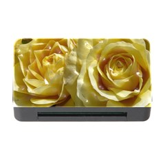 Yellow Roses Memory Card Reader With Cf by MoreColorsinLife