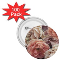 Great Garden Roses, Vintage Look  1.75  Buttons (100 pack)  by MoreColorsinLife