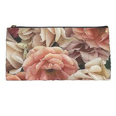 Great Garden Roses, Vintage Look  Pencil Cases by MoreColorsinLife