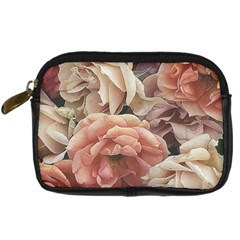 Great Garden Roses, Vintage Look  Digital Camera Cases by MoreColorsinLife