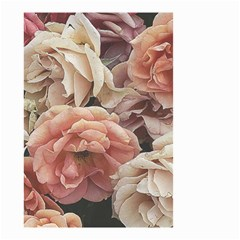 Great Garden Roses, Vintage Look  Small Garden Flag (Two Sides) by MoreColorsinLife